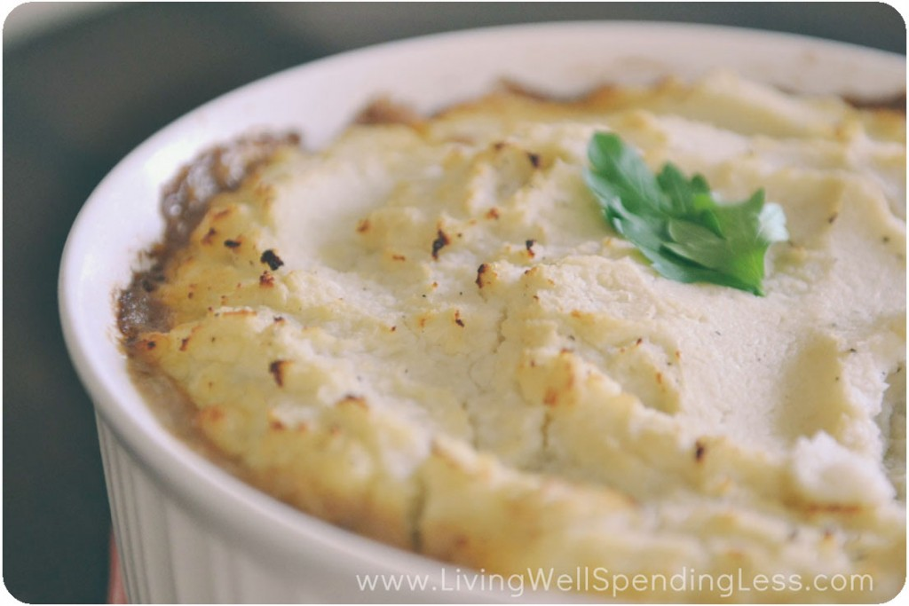 Skinny Shepherds Pie | Healthy Shepherds Pie | Easy Shepherds Pie Recipe | Vegetarian Shepherds Pie