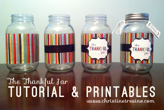 Thankful Jars