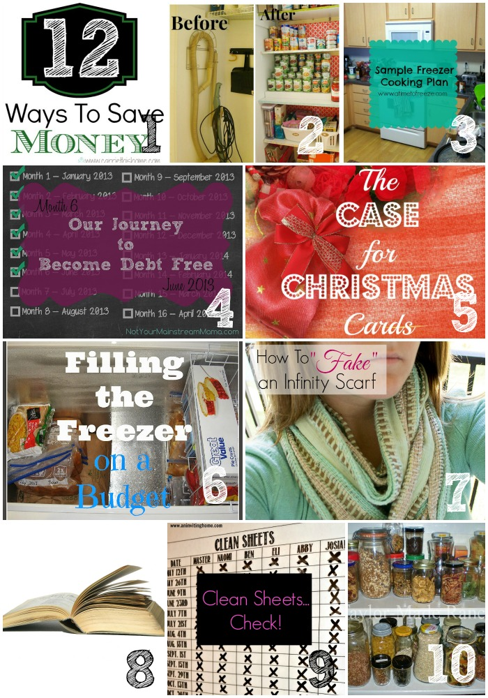 Thrifty Thursday Week 37 Top Ten
