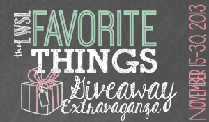 The LWSL Favorite Things Giveaway Extravaganza