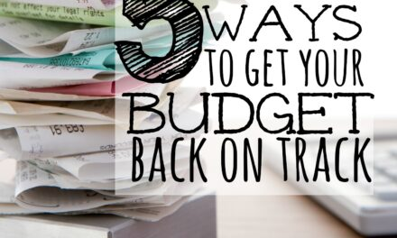 5 Quick Tips for Getting your Post-Holiday Budget Back on Track