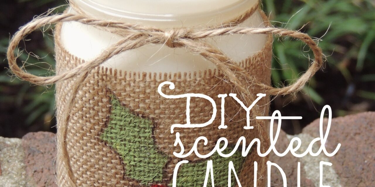 DIY Scented Candle in a Jar | Living
