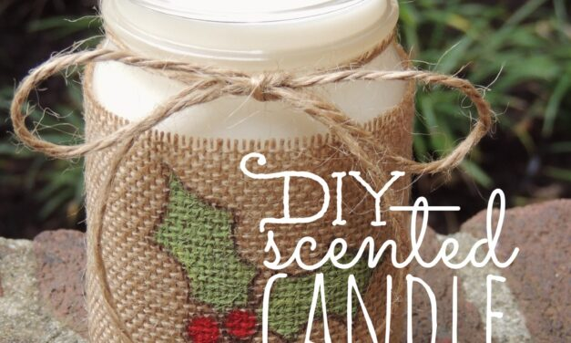 DIY Scented Candle