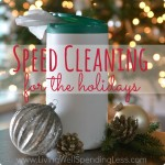 Holiday Speed Cleaning