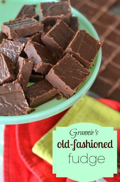 Old Fashioned Homemade Fudge