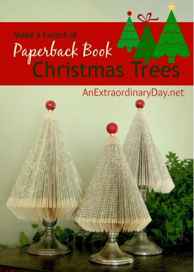 Paperback Christmas Trees
