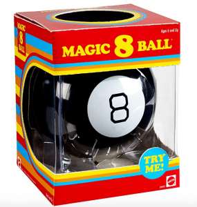 This Magic 8 Ball is a budget friendly gift kids will love.