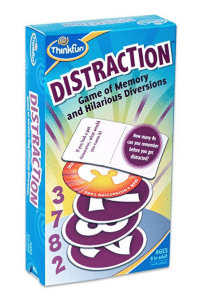 Problem solvers will enjoy this Distraction card game as a gift.