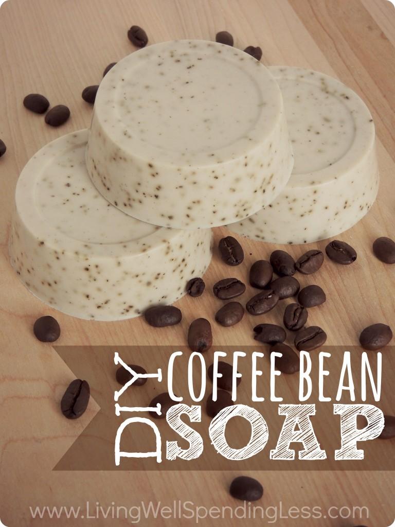 Coffee Bean Soap - Living Well Spending Less