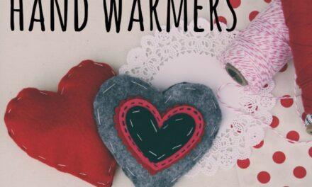 DIY Valentine's Hand Warmers