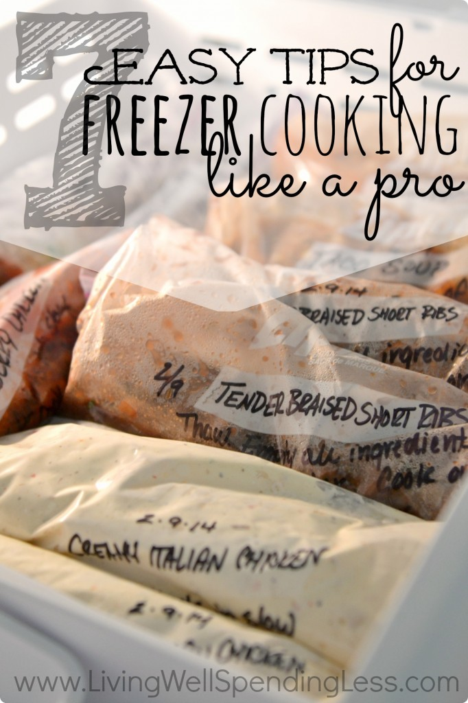 Freezer Cooking Ideas | Freezer Cooking | Easy Freezer Meals | Meal Planning
