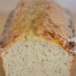 The combination of almonds and poppy-seeds along with the orange glaze make this bread full of flavor and super moist!