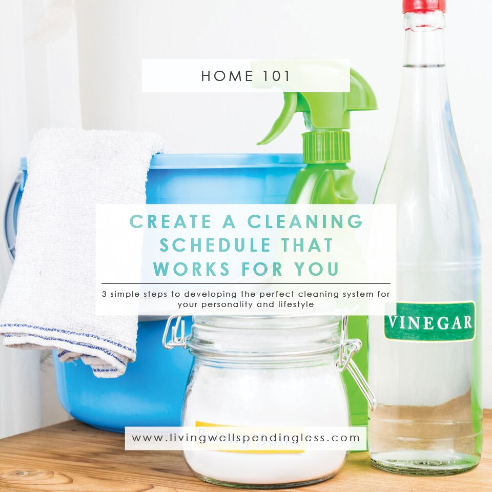 How to Create a Cleaning Schedule That Works For You | Cleaning Schedule That Works | Time Management | Home Organization | Cleaning Schedule | House Cleaning