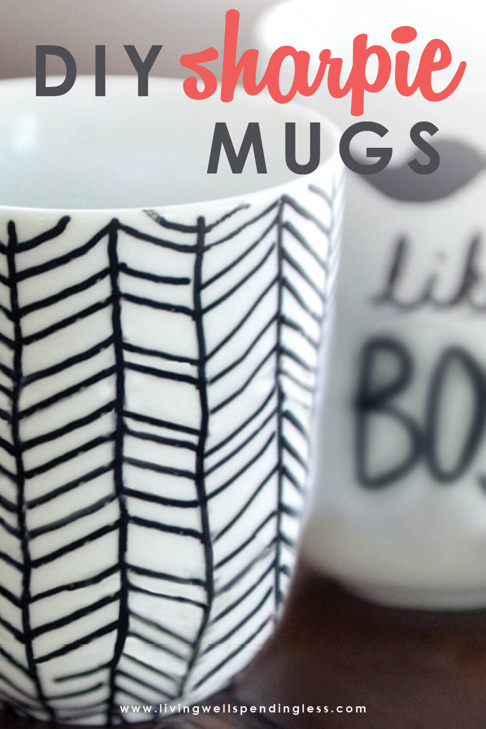 Easy Diy Sharpie Mugs Sharpie Mug Project Diy Mugs