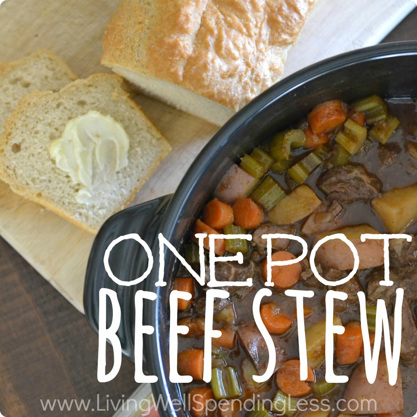 One Pot Beef Stew | Instant Pot Beef Stew | One Pot Beef Stew Recipe | Stew Recipes | Easy Beef Stew | Baked Beef Stew