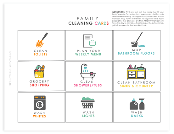 create a cleaning schedule that works for you cleaning guide