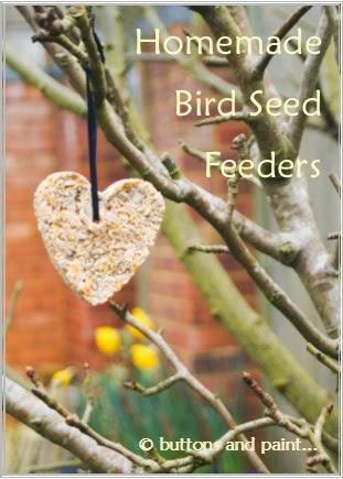 Homemade Bird Seed Feeders