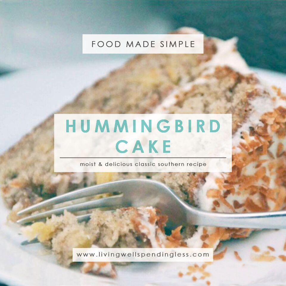 Hummingbird cake recipe easy southern cake recipes hummingbird cake hummingbird cake recipe cake recipes easy cake recipes southern cake forumfinder Gallery