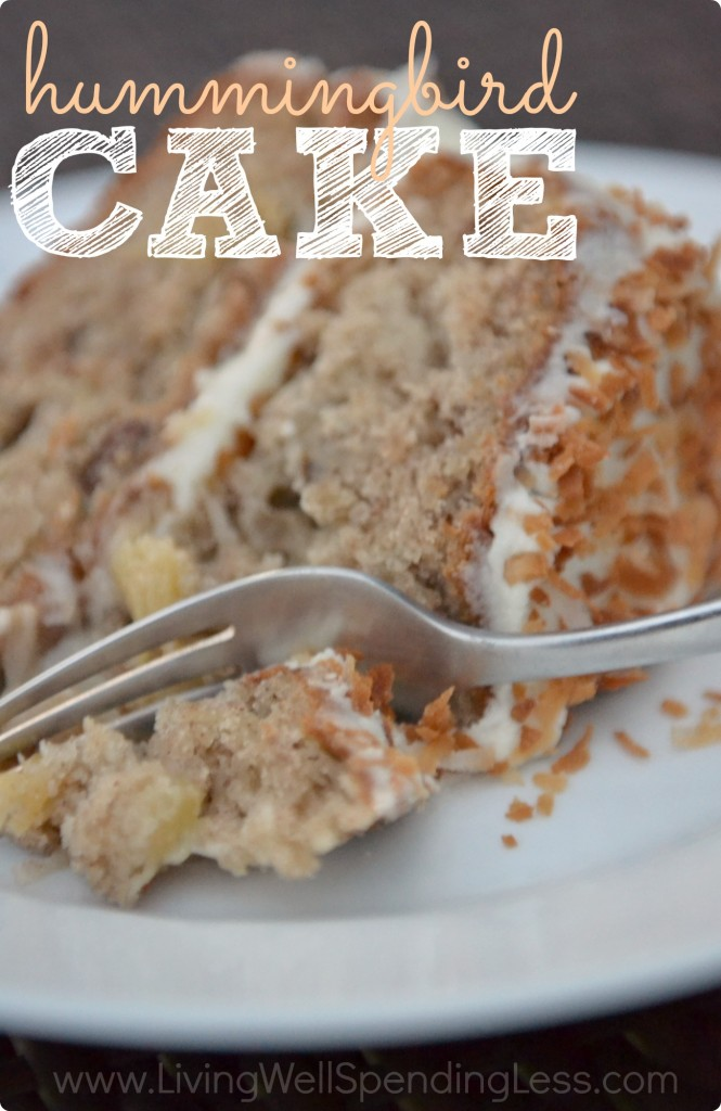 Hummingbird Cake - Living Well Spending Less®