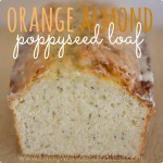 Orange Almond Poppyseed Loaf Square