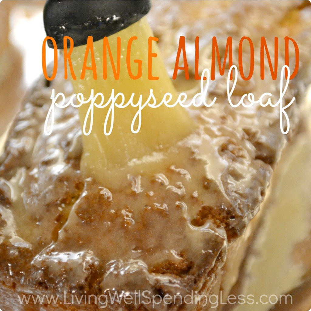 Orange Almond Poppyseed Loaf Recipe And Poppy Seed