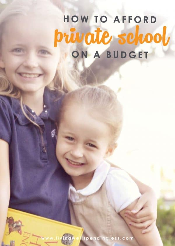 Private school might seem out of reach, but it actually can be far more affordable than you might think. If you've been considering a change in your child's education, you will not want to miss these 7 super practical (and field-tested) ways to afford private school on a budget.   Private School on a Budget | School Planning | Choosing Private School | Pay for Private School |Afford Private School