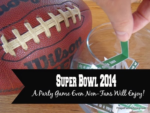 Super Bowl Party Game 2014 for everyone