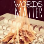 Words Matter Square