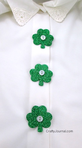 glitter-shamrock-button-covers-03w