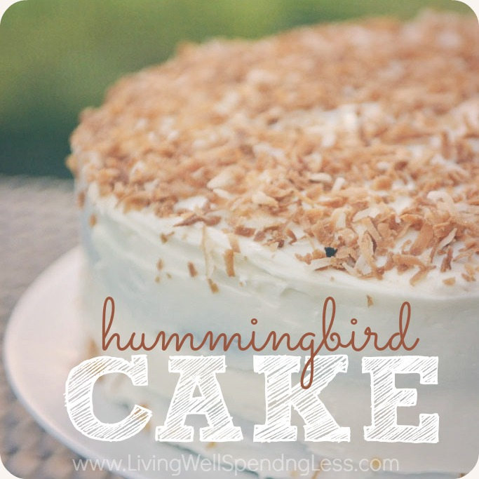 Hummingbird Cake - Living Well Spending Less®