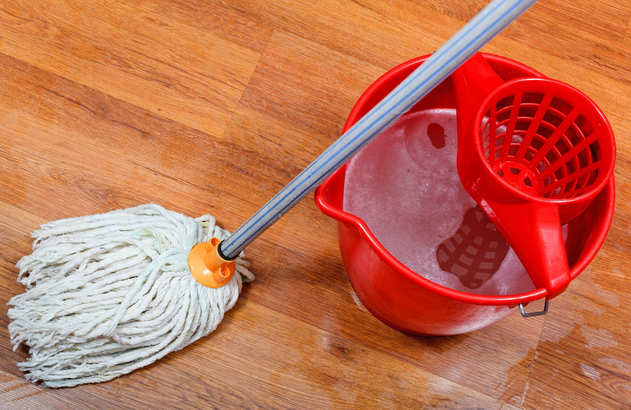 Get out your mop and bucket? A smaller house is easier to keep sparkling clean.