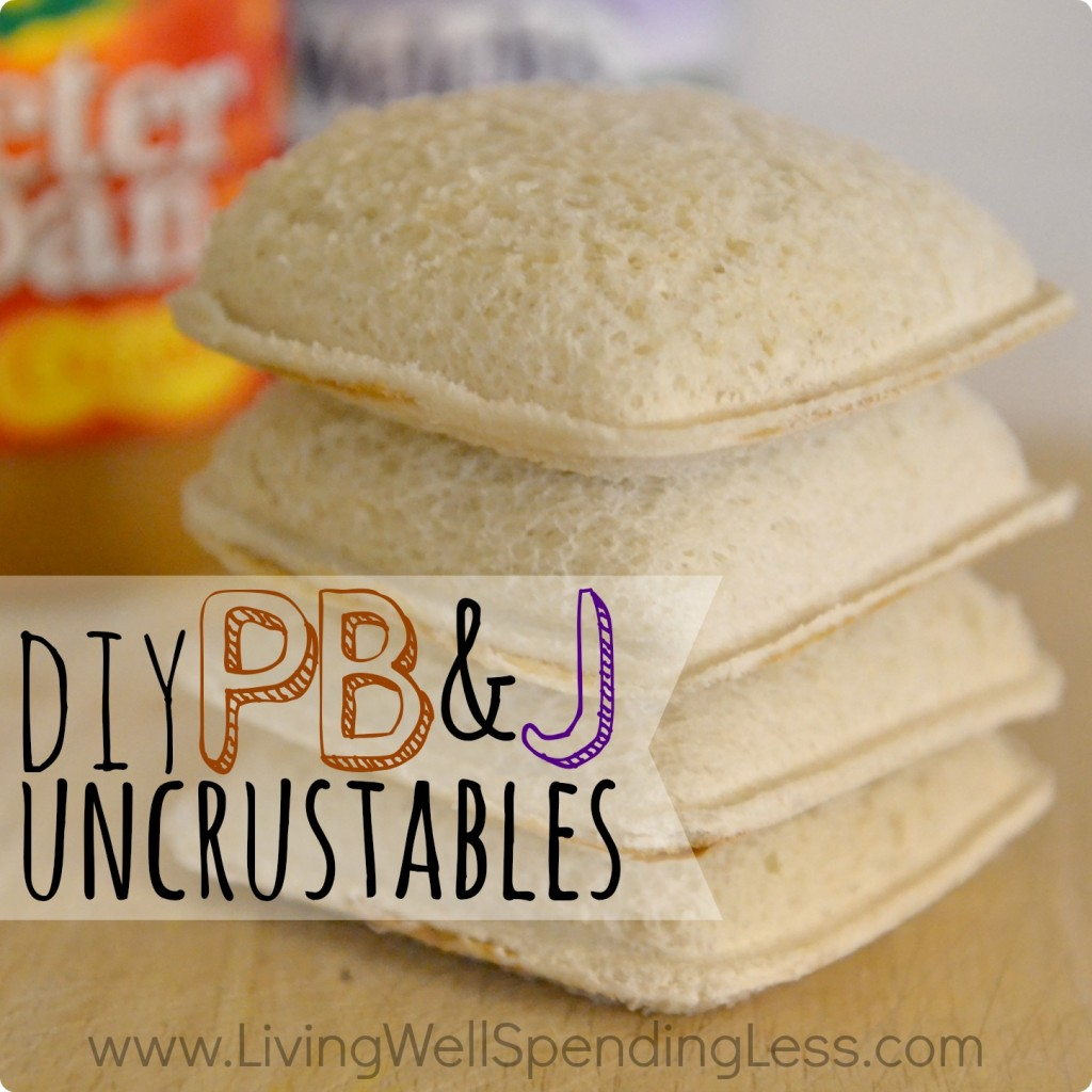 DIY Uncrustables Square