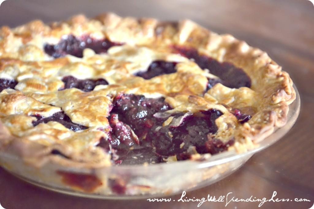 Homemade Blueberry Pie Recipe