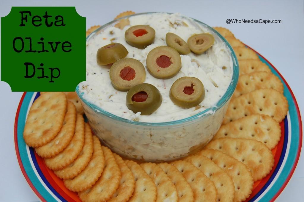 Feta-Olive-Dip