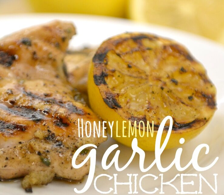 Honey Lemon Garlic Chicken