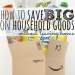 Save BIG on Household Goods | Save Money on Household Items | Budgetting Hacks | Money Saving Tips