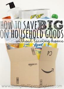 Save BIG on Household Goods   Save Money on Household Items   Budgetting Hacks   Money Saving Tips
