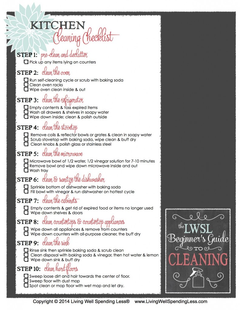 Beginner's Guide to Cleaning | Getting Started | Home Management | Cleaning Inspiration | Better Home Ideas | Cleaning Tips | Kitchen Cleaning
