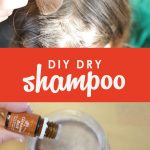Keep greasy roots at bay in between washes with this super easy homemade dry shampoo. It smells great and only costs pennies to make!