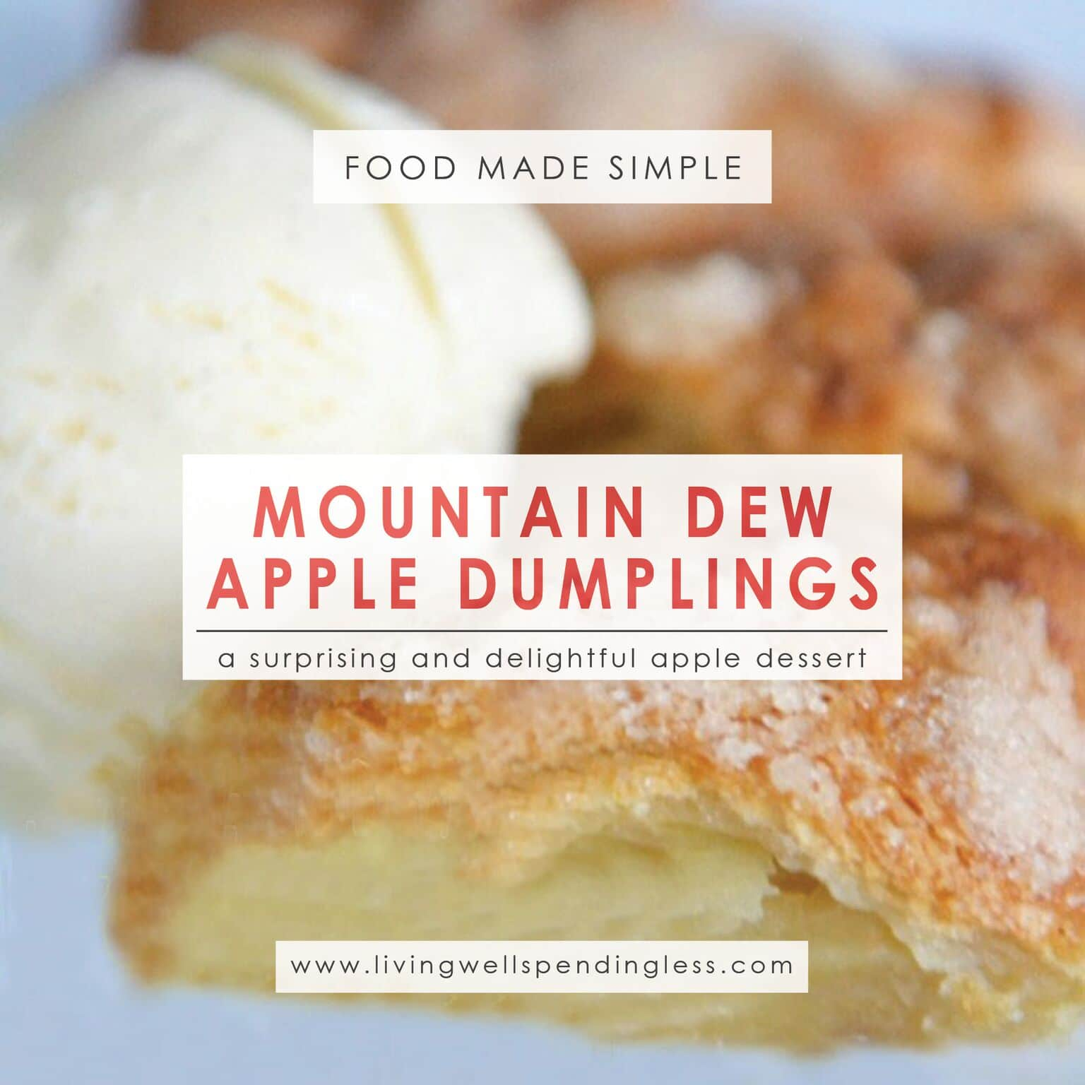 Mountain Dew Apple Dumplings   Apple Dumplings Recipe   Apple Dumplings   Easy Dumplings Recipe