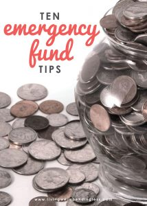 Want to save money or pay off debt, but aren't sure where to start? Don't miss these 10 super smart and easy ways to build up your emergency fund fast!