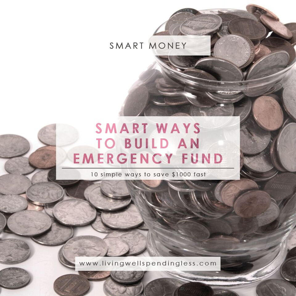 10 Smart Ways to Build an Emergency Fund | Grow An Emergency Fund | Emergency Fund | Saving Tips | Money Saving Tips | Budgeting | Financial Management | Budgeting | Money Advice | How To Save