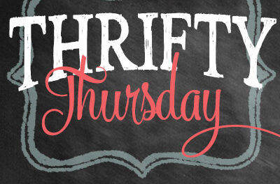 Thrifty Thursday {Week 51}