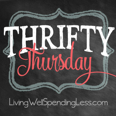 Thrifty Thursday {Week 92}