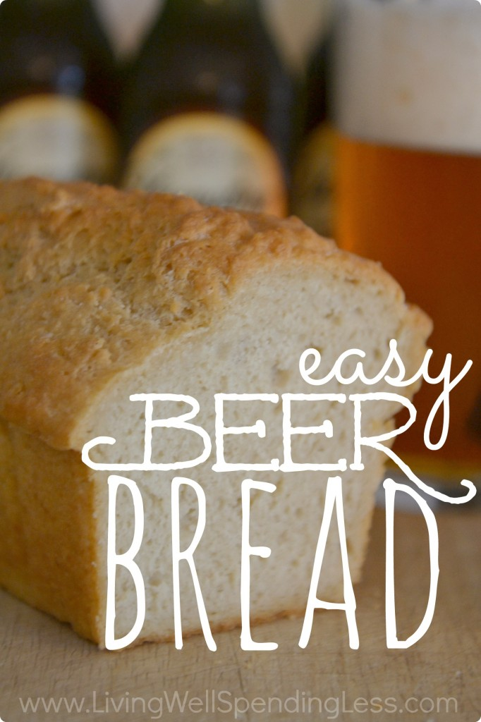 Get ready for a delicious bread recipe: this easy beer bread will be your new favorite!