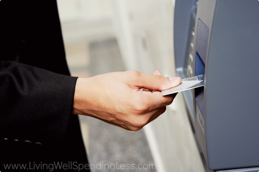 Know what fees your bank charges for ATM withdrawals or cashing checks