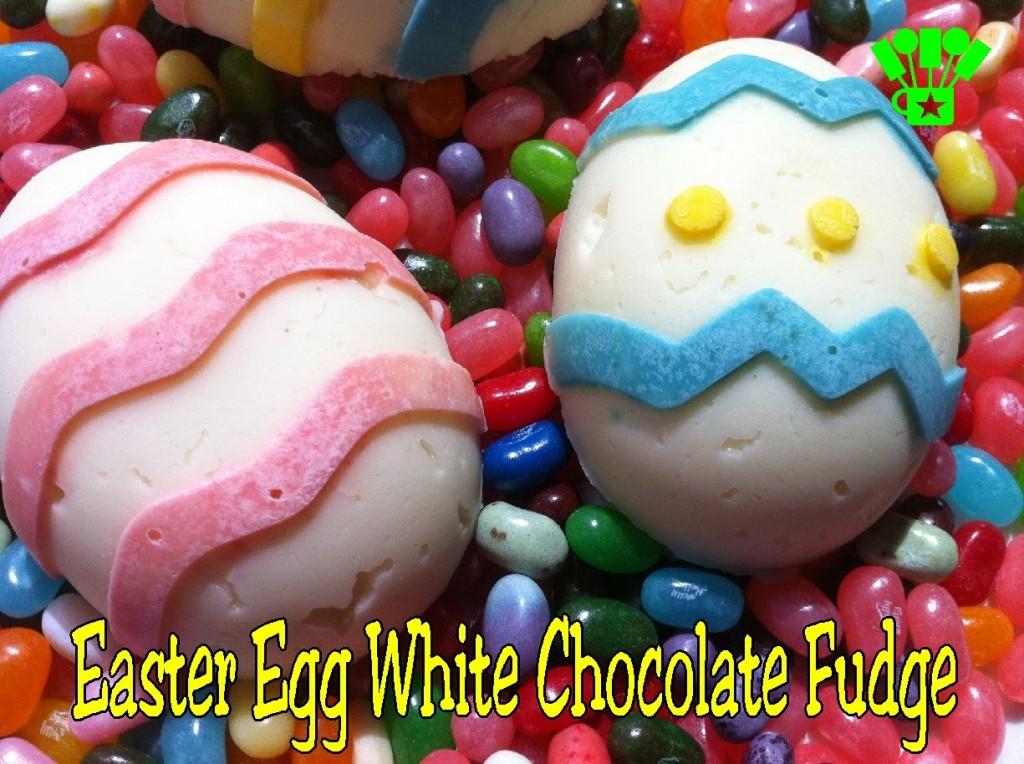 Easter Egg White Chocolate Fudge by Kandy Kreations