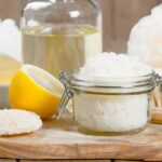 DIY Lemon Sugar Scrub   Lemon Scrub   Sugar Scrub Recipe   Homemade Lemon Sugar Scrub