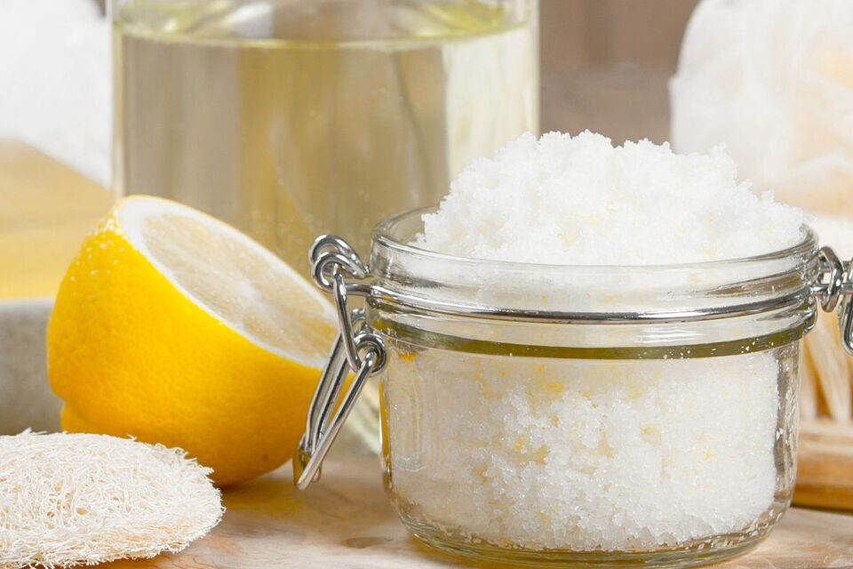 Easy Diy Lemon Sugar Scrub Homemade Recipe