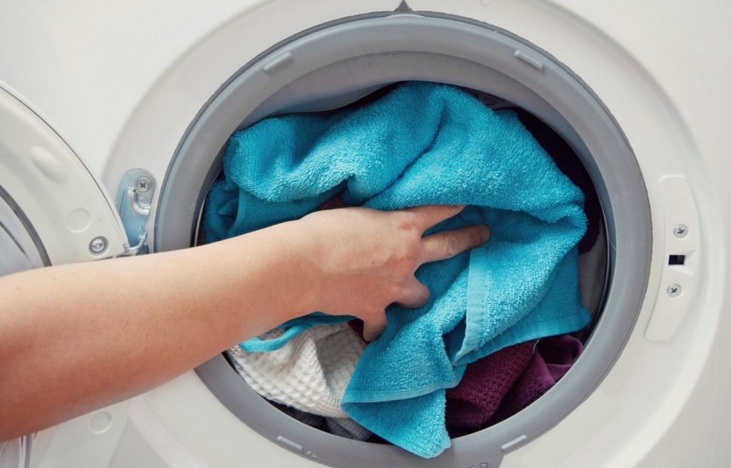 Use care when you wash your clothes. Wash like colors with each other and always follow washing and drying instructions.